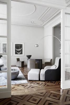 Creative Wood Floors Design Ideas