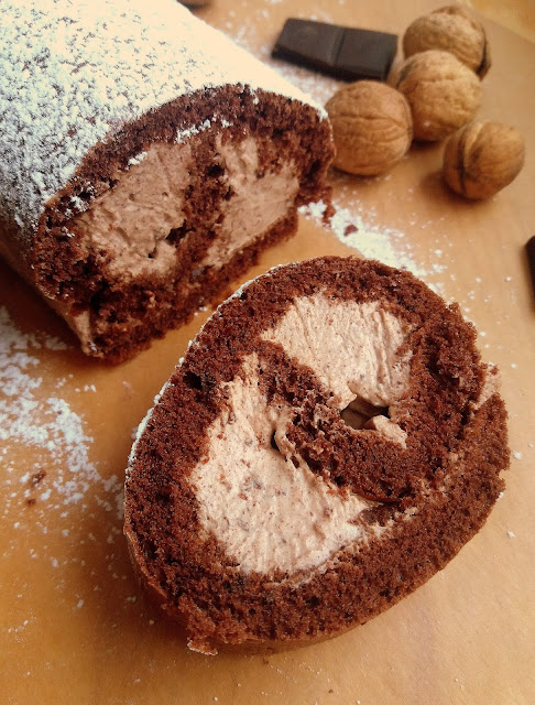 Rolada czekoladowa / Chocolate Jelly Roll
