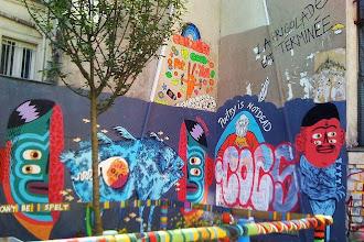 Sunday Street Art : Bault et Kashink - place Fréhel - Paris 20