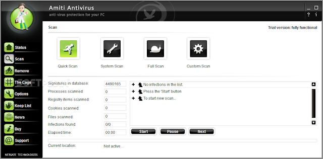 تحميل برنامج مكافحة الفيروسات للكمبيوتر Amiti Antivirus
