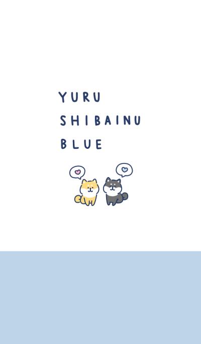 yuru shibainu blue