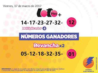 loto-plus-numeros-ganadores-viernes-17-3-2017