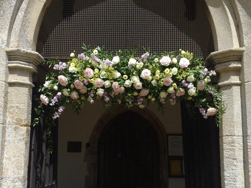 Tollys Flowers Outdoor Wedding Flowers