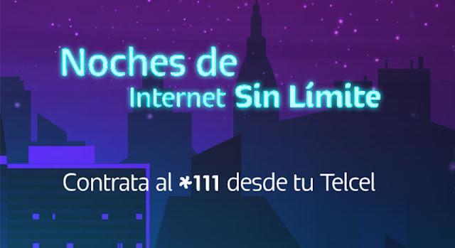internet nocturno telcel ilimitado