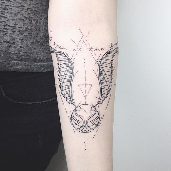 Magical Harry Potter Tattoos