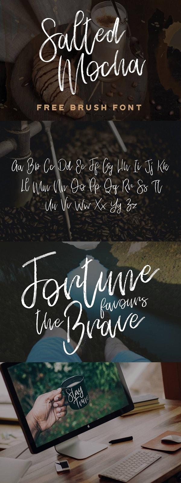 Download Font Edisi Februari 2017 - Salted Mocha Free Font