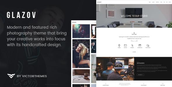Glazov v1.2 – Photography WordPress Theme