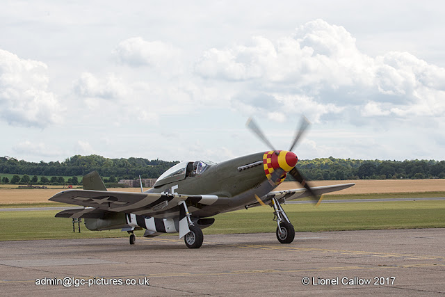 P51 Mustang at Duxford