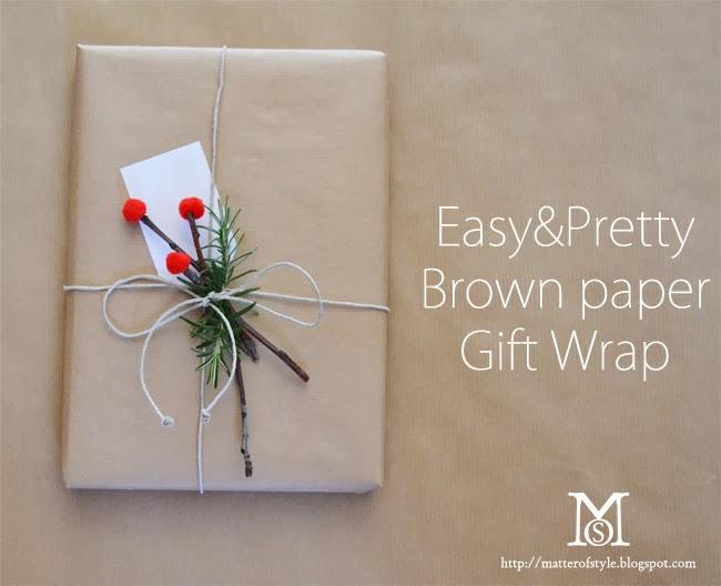 brown+paper+top - Simple & fairly brown paper reward wrap