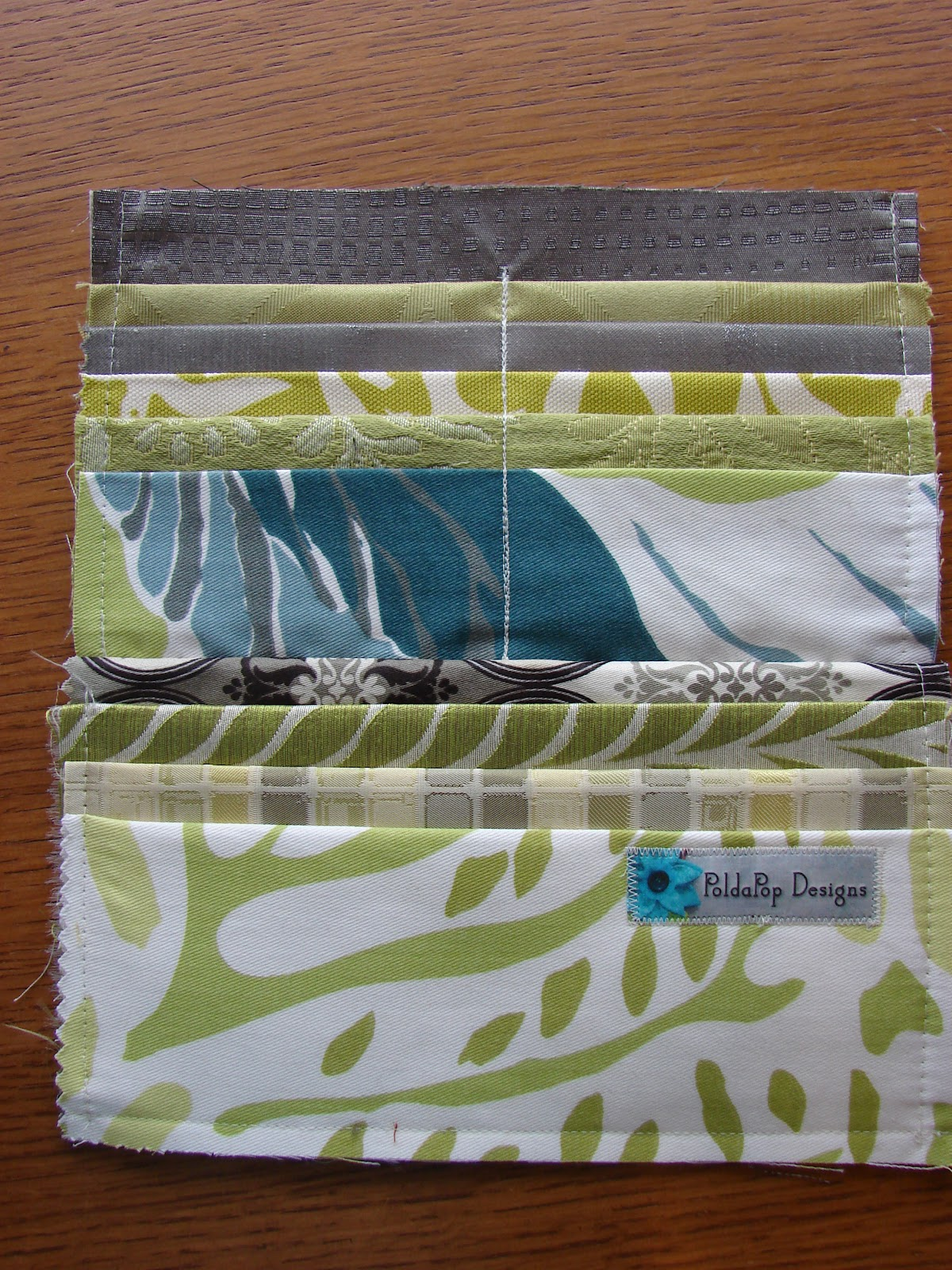 Free Sewing Tutorial Clutch Wallet From Upholstery Swatches