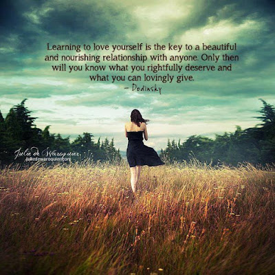 Beautiful Learning to love Quotes: learning to love yourself is the key to a beautiful