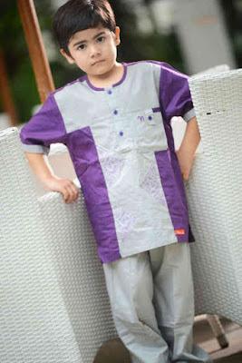 Baju Lebaran Anak Terbaru Lengan Pendek