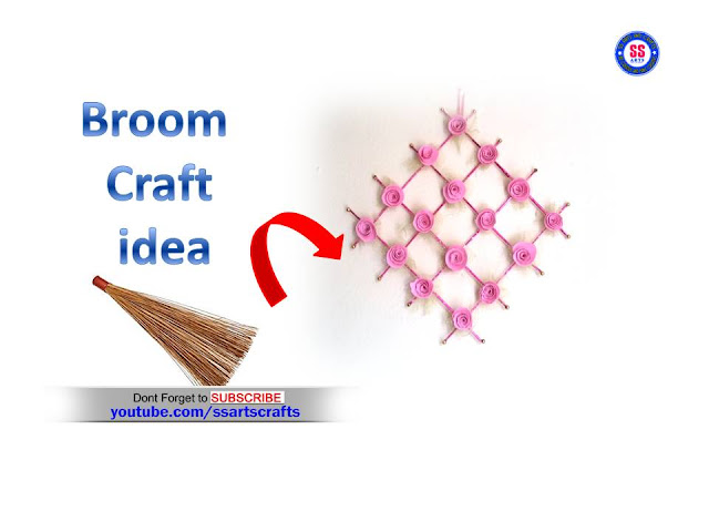 Here is crafts with broom sticks,how to decorate broom sticks,how to decorate our room with broom sticks,broom crafts with room decor ideas,wall hanging with broom sticks,how to decorate our wall with brrom sticka,best out of waste with broom sticks,kids crafts with recycled materials,reused crafts with broom sticks,how to make wall decor with broom sticks