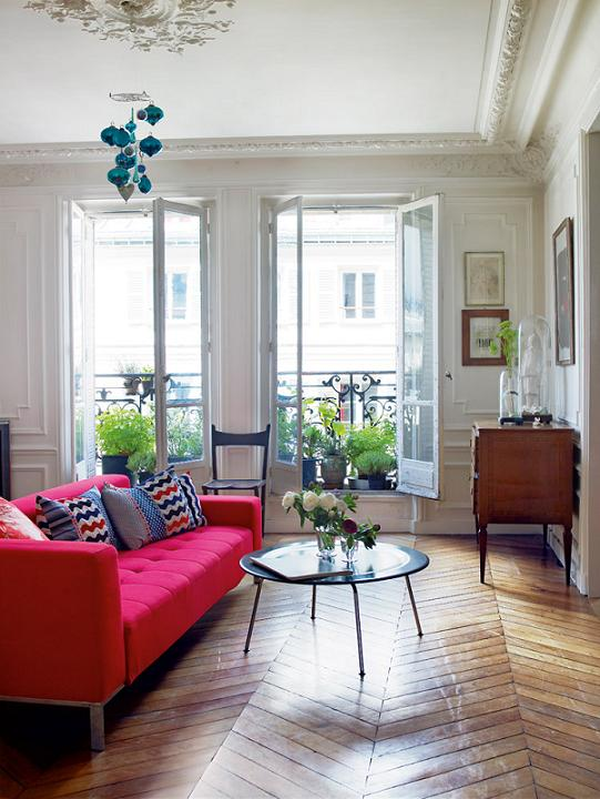 Eye for design decorating paris apartment style a grand mix of classical and contemporary Today s home furniture design grand junction co