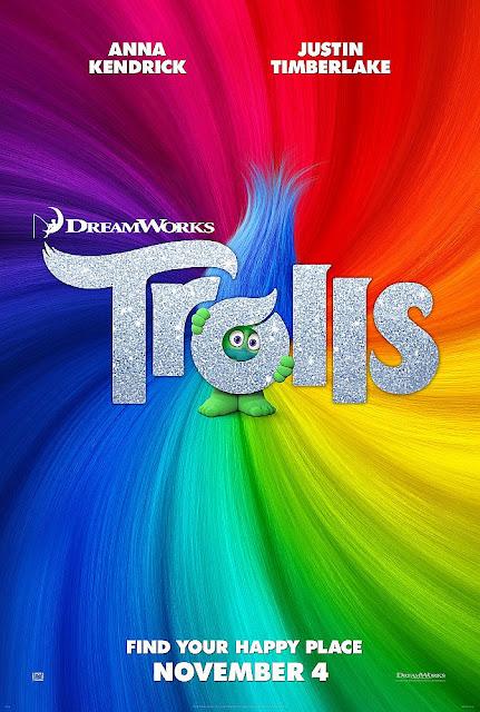 Sinopsis Film Animasi Trolls (2016) - Justin Timberlake, Anna Kendrick
