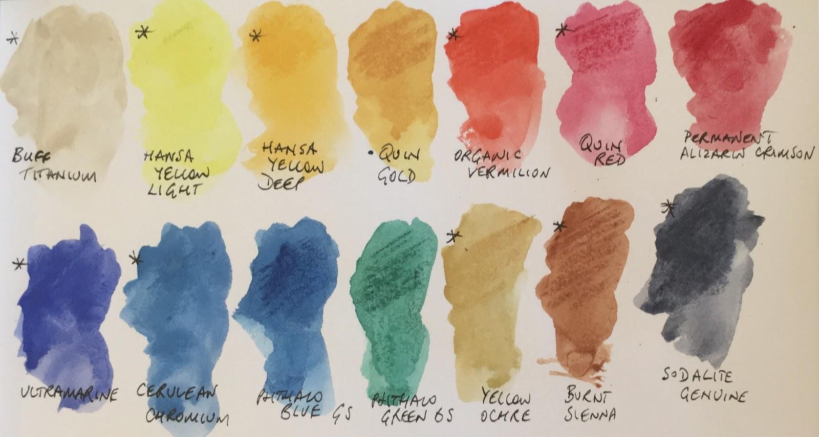 Jane Blundell Artist Watercolour Sticks From Daniel Smith