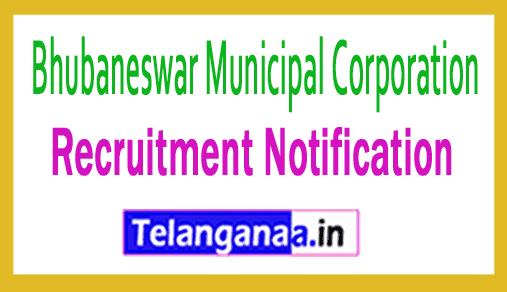 Bhubaneswar Municipal Corporation BMC Recruitment