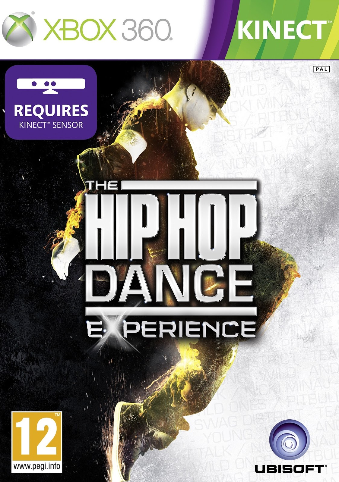 Hip hop dance game xbox kinect