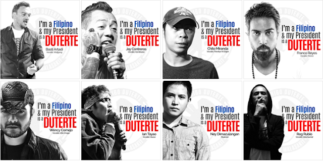 Despite of criticisms, Duterte has the most number of celebrity supporters