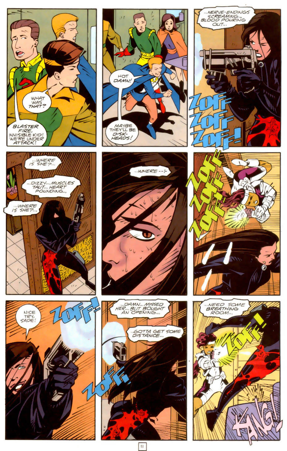 Legion of Super-Heroes (1989) 36 Page 11