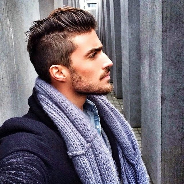Amazing Hairstyle Advice Italian Male Model Short Hairstyles Gunalazisus