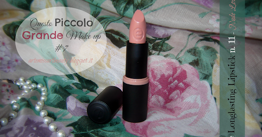 [Questo Piccolo Grande Make up #7] Essence Longlasting Lipstick n.11 review, swatch e inci.