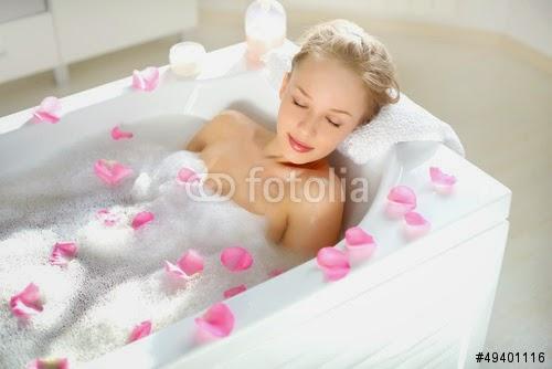 Como tener un baño relajante parte 2