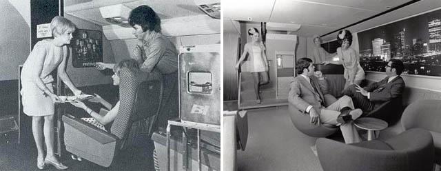 Sexy Stewardesses Vintage Everyday