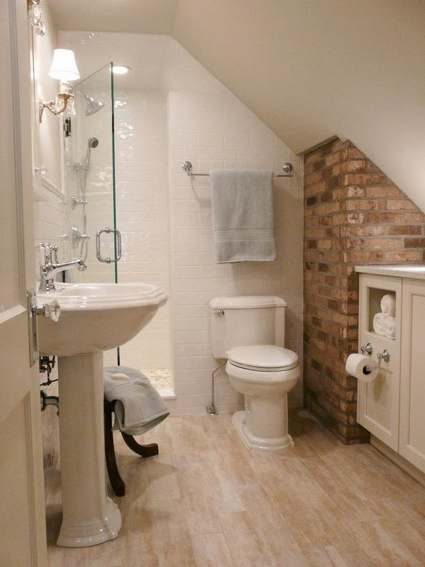 Modern Furniture 2014 Clever Storage Tips For Small Bathrooms