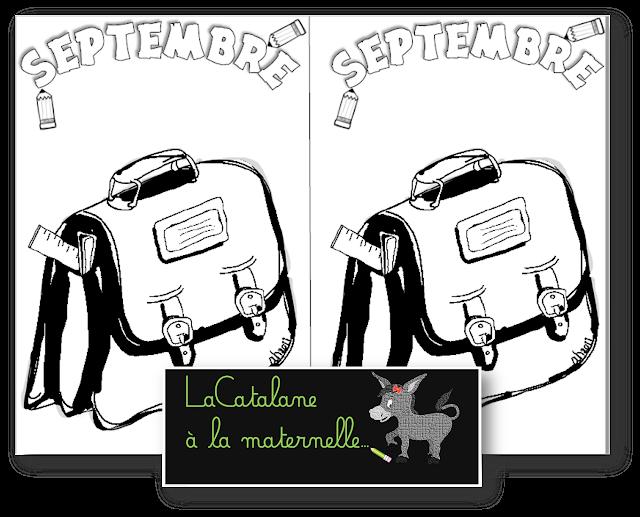 Coloriages du mois 2017-2018 (LaCatalane)