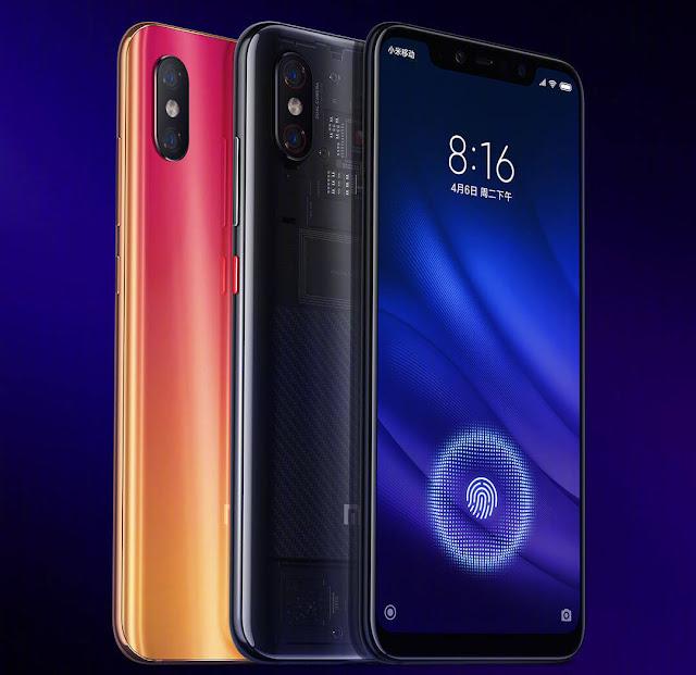 شاومي تطلق رسمياً هاتفها Xiaomi Mi 8 Pro برامات 8 جيجا