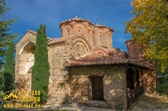 Monastery church - Veljusa Monastery near Strumica, Macedonia