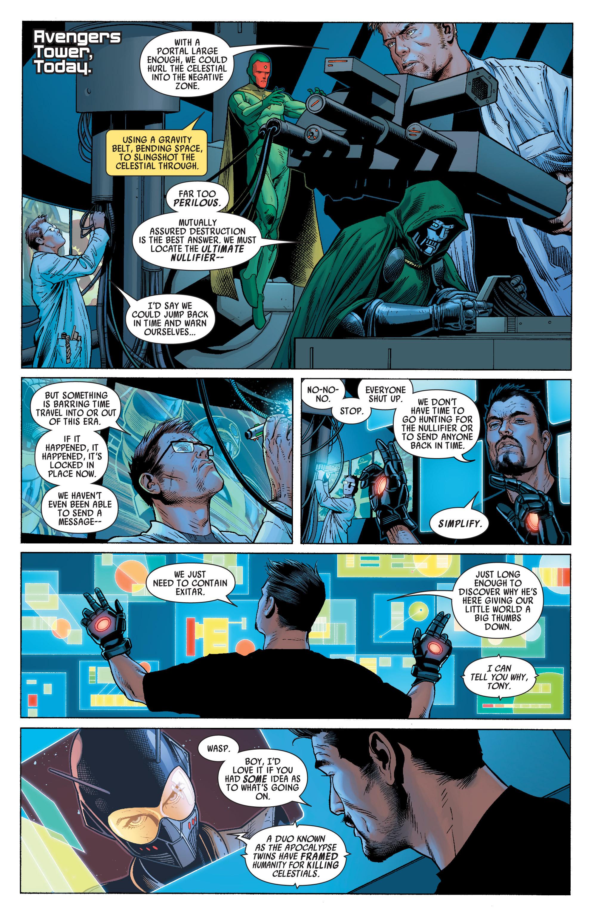 Read online Uncanny Avengers (2012) comic -  Issue #16 - 5