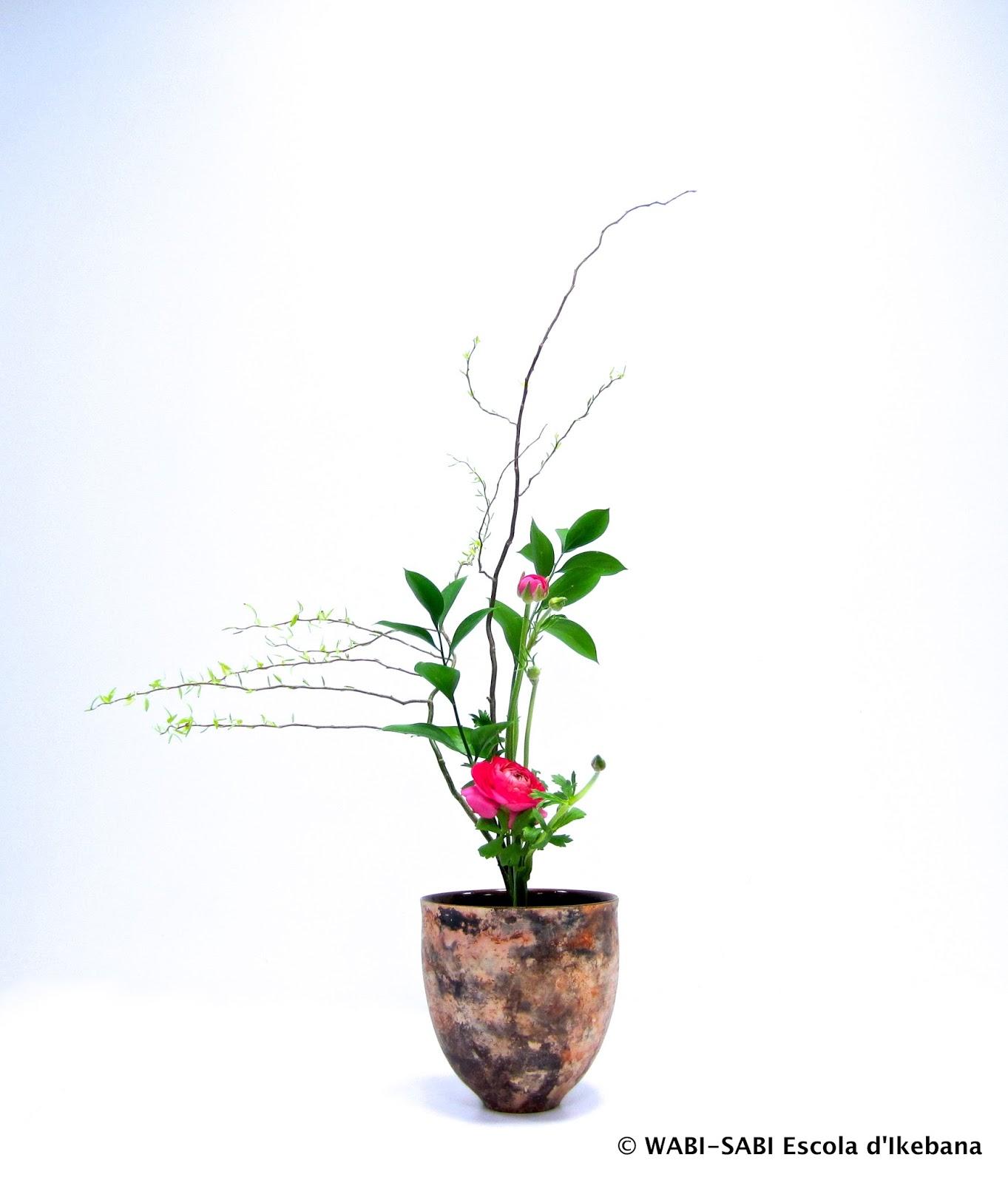 Ikebana-shoka shofutai-sanshuike