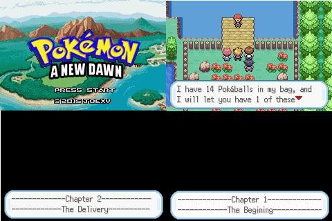 Pokemon: A New Dawn
