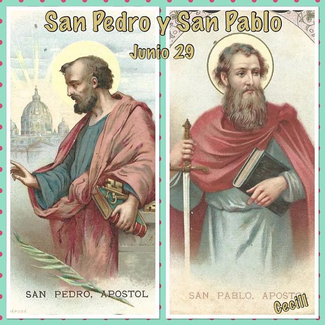 Santoral Católico San Pedro Y San Pablo Fiesta 29