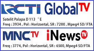 RCTI MNCTV GlobalTV iNewsTV
