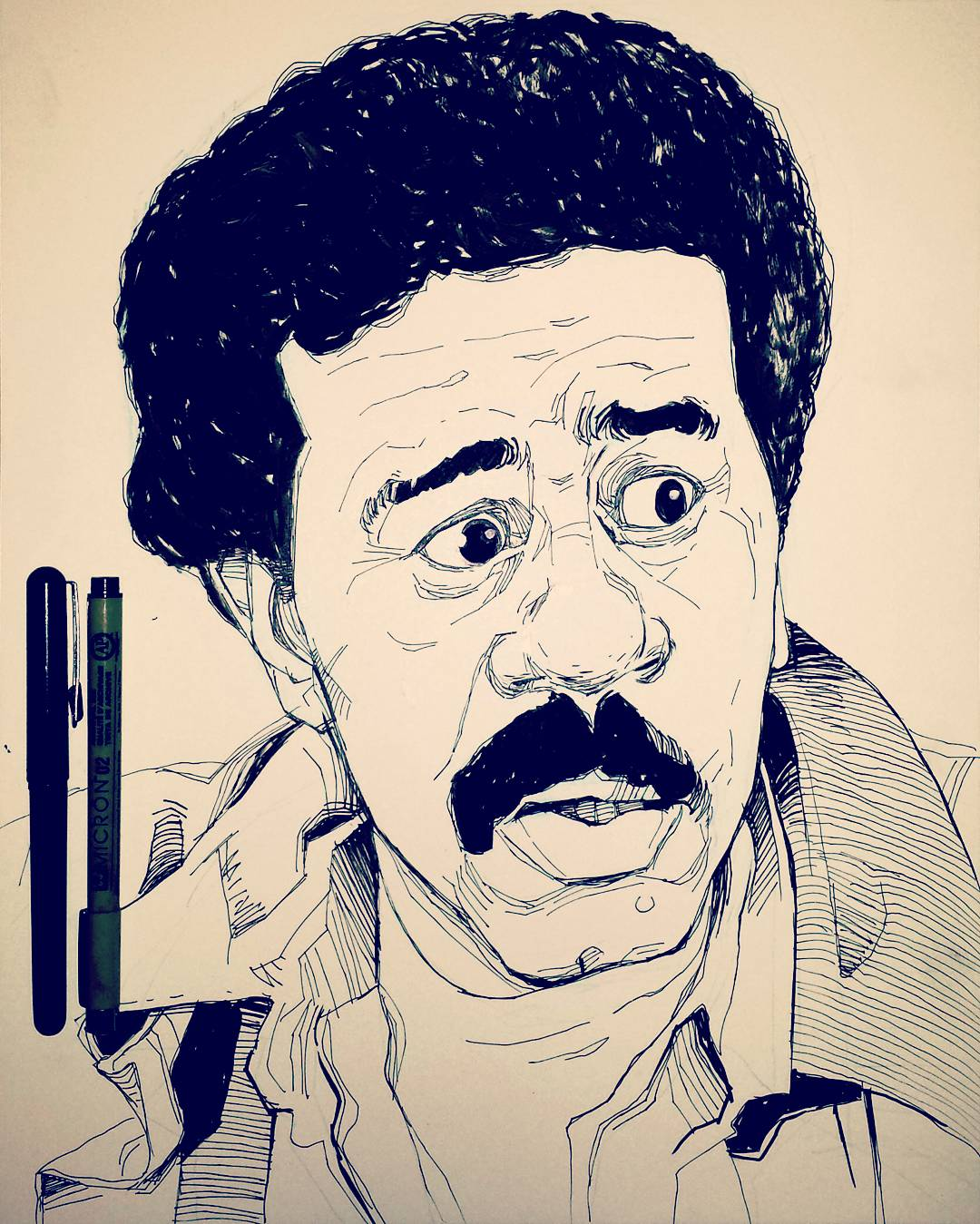 Illustration Richard Pryor Stir Crazy