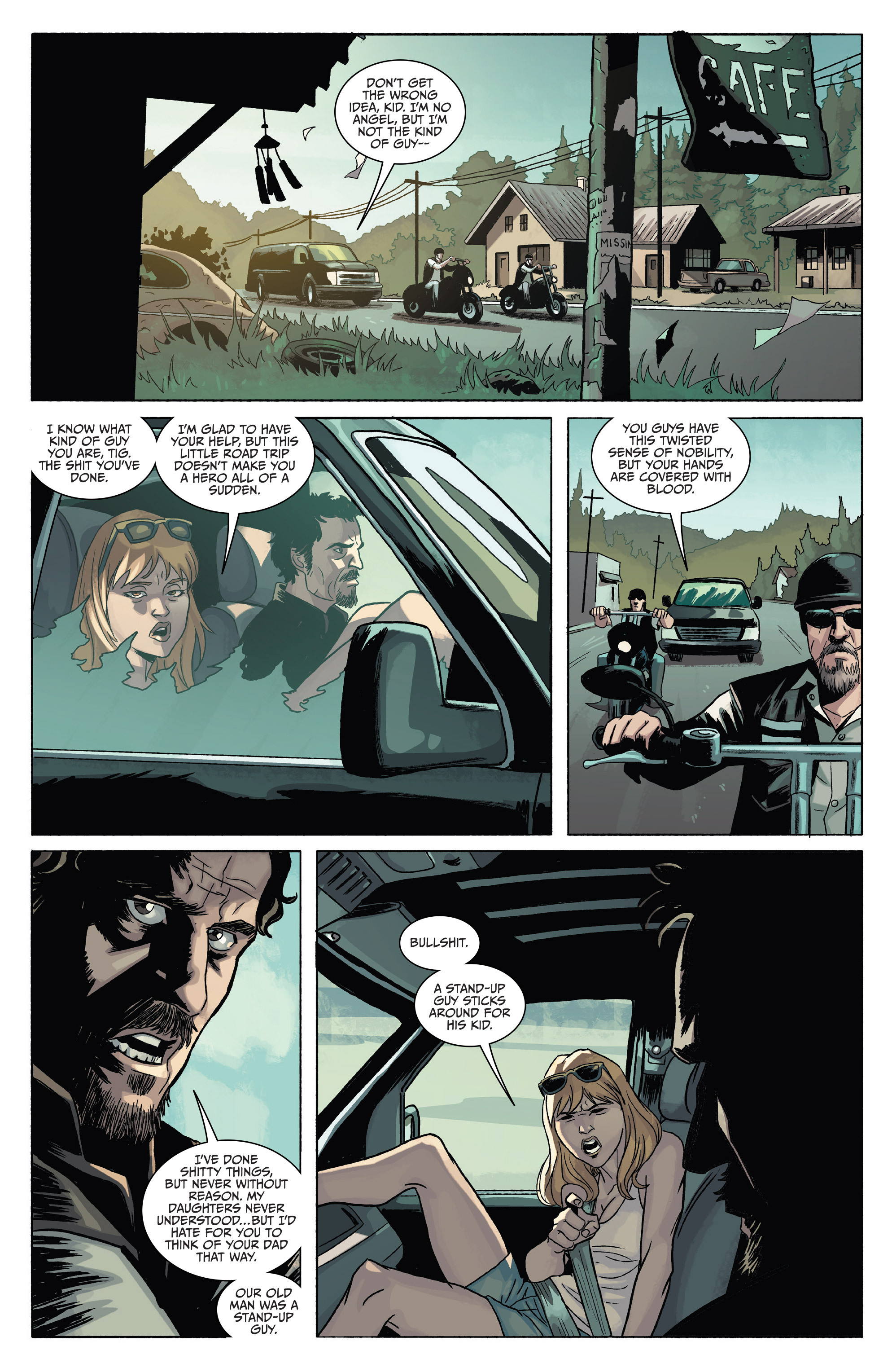 Read online Sons of Anarchy comic -  Issue #4 - 14