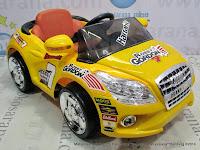 Mobil Mainan Aki PMB M2018 Robby Gordon Yellow
