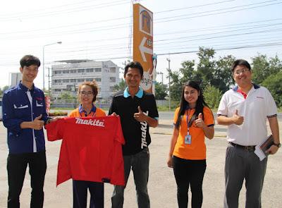 Thai Seng Trading Makita Thailand vist Ruangsangthai Buriram