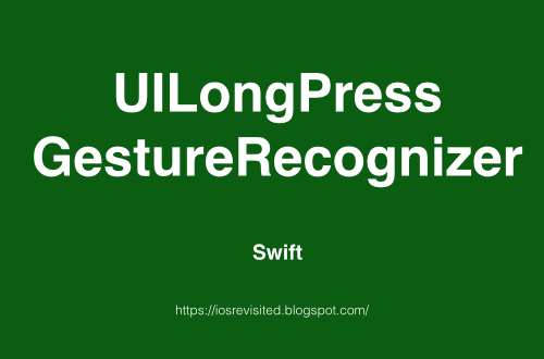 UILongPressGestureRecognizer - Image zoom in and out example on Long Press Gesture in swift gif