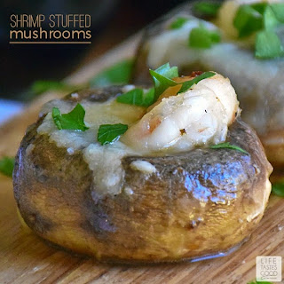 Shrimp Stuffed Mushrooms | by Life Tastes Good