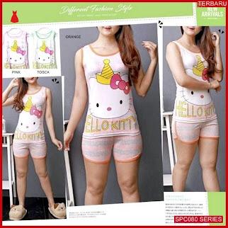 SCP080P57 Piyama Hk Pajamas Set Baju Tidur Wanita | BMGShop