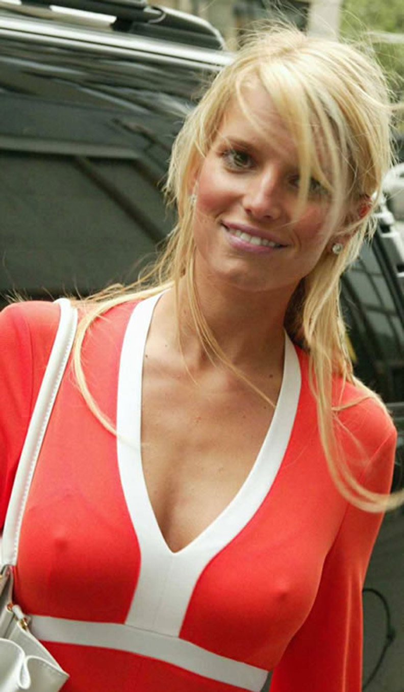 Jessica simpson nipple slips and pussy can