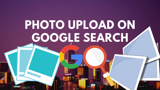 How to upload your photo on google