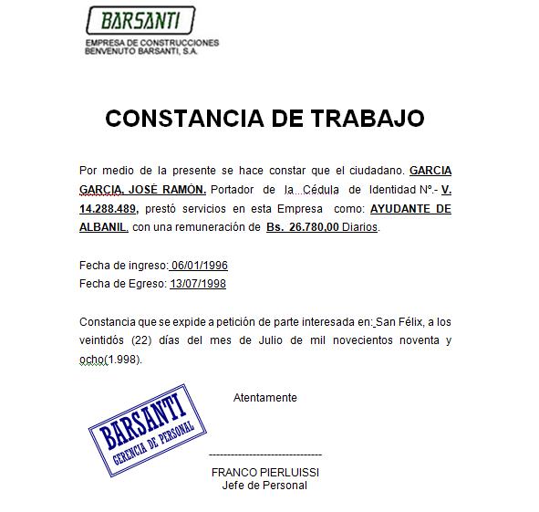 Ejemplo De Carta De Solicitud De Empleo Para Un Banco Ejemplo Sencillo