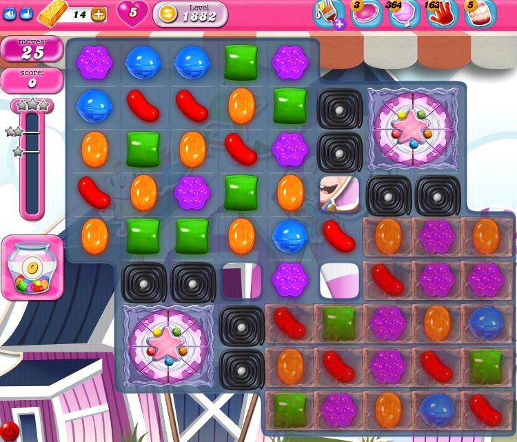 Candy Crush Saga 1882