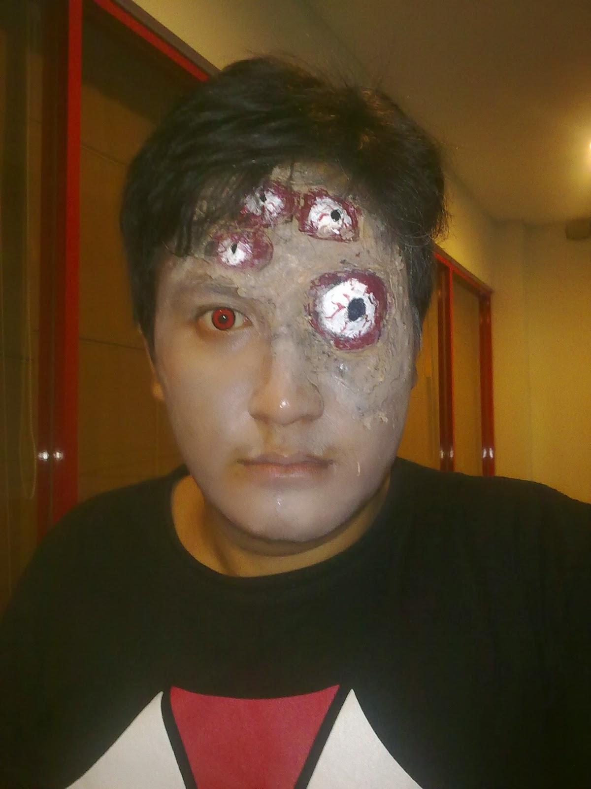 makeup karakter indonesia