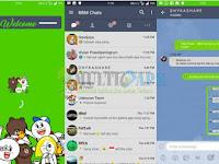 BBM Modifikasi Line Base 3.3.6.51 Terbaru For Android